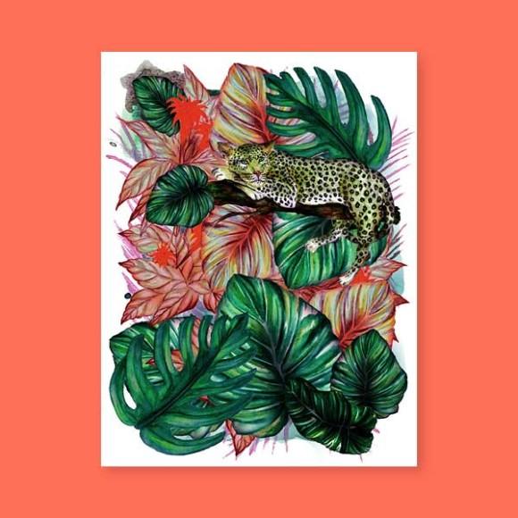 Jungles – Le léopard