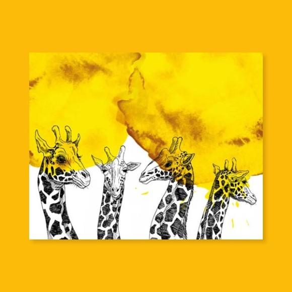 Horde – Les girafes