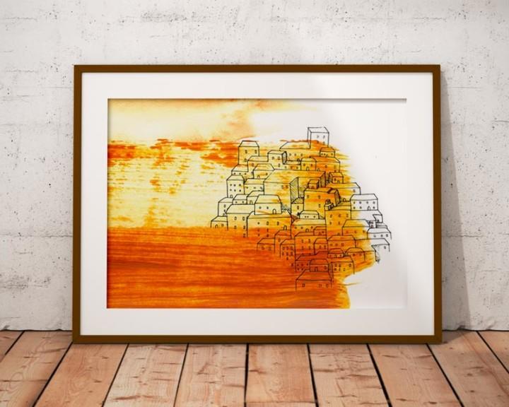 Horde – Le village – Juliette Seban – 80 exemplaires