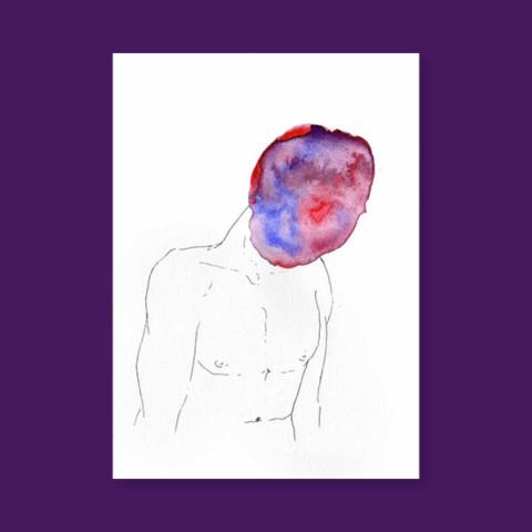 Masques – L'homme violet