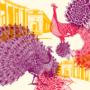 Piquette ou champagne – Le Paon – Juliette Seban – 100 exemplaires