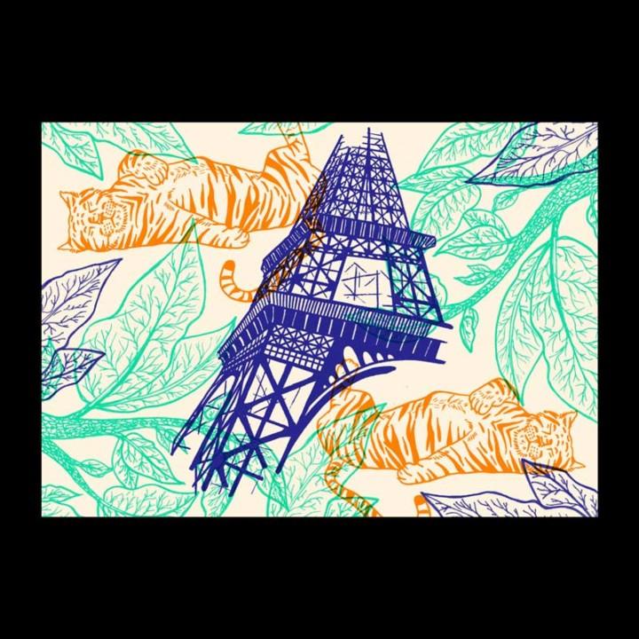 Piquette ou champagne – Le Tigre – Juliette Seban – 100 exemplaires