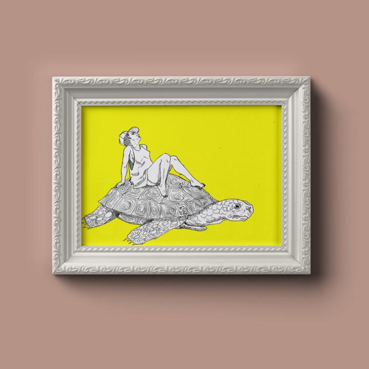 Chill Bill – impressions digitales – Juliette Seban