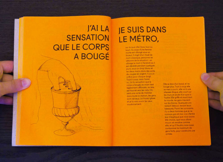 Il change sa tête et met un masque – Auto-édition – Juliette Seban