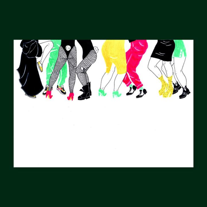 NYC, les danseurs – impressions digitales – Juliette Seban