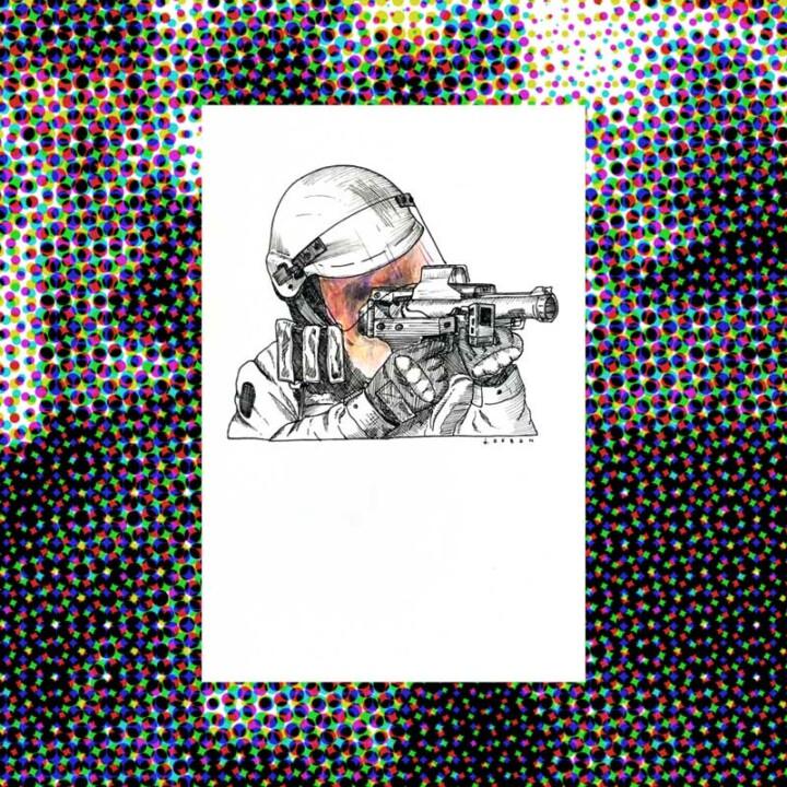 Police partout III – 2020 – Juliette Seban